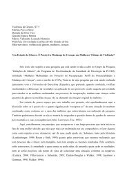 Violência de Gênero. ST 5 Marlene Neves Strey Daniela da Silva ...