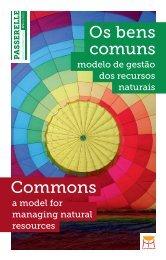 Os bens comuns modelo de gestão dos recursos ... - Portal Río+20