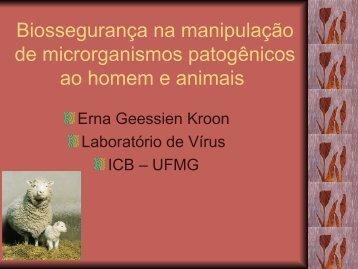 Biossegurança na manipulação de microrganismos patogênicos ao ...