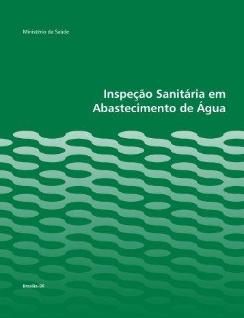 Inspeção Sanitária em Abastecimento de Água - Ministério da Saúde