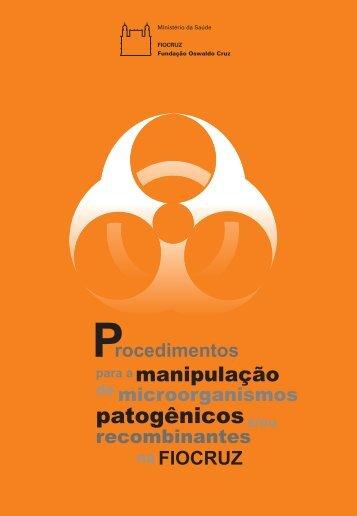Procedimentos para a manipulação de microrganismos ... - IFSC