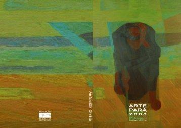 Arte P ará 2003 - 22ª edicão - Fundação Romulo Maiorana