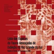 Lista das Espécies da Fauna Ameaçadas de Extinção - Fundação ...