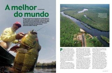 Poucos lugares se comparam ao Rio Itapará, em Roraima, para ...