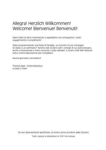 Speisekarte Internet Sommer 2012 italienisch - Hotel Weisses Kreuz ...