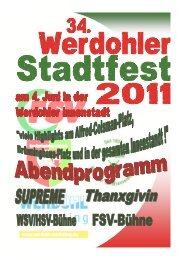 31. Stadtfest - Werdohl