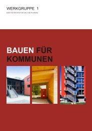 bauen für kommunen - Werkgruppe 1