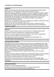 Checkliste für den Werkzeugkauf - Fachverband Werkzeugindustrie ...
