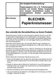 Maschinenmesser - High-Tech im Verborgenen - Fachverband ...