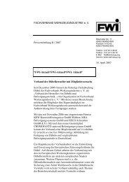 Verband der Dübelhersteller mit Mitgliederzuwachs - Fachverband ...