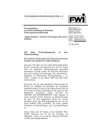 """""""Happy Birthday!"""" Deutsche Werkzeughersteller feiern Jubiläum"""