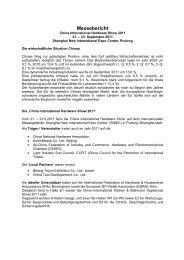 Messebericht - Fachverband Werkzeugindustrie eV