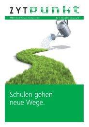 Schulen gehen neue Wege. - VTGS Verband Thurgauer ...