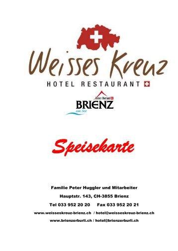 BEO Beef - Hotel Weisses Kreuz