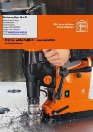 weitere Info - Werkzeug-Jäger GmbH