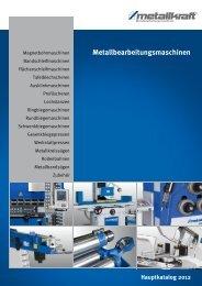 Metallbearbeitungsmaschinen Hauptkatalog 2012