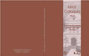 MAST Colloquia 8 - Museu de Astronomia e Ciências Afins