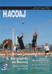 sumario editorial staff - Club Náutico Hacoaj