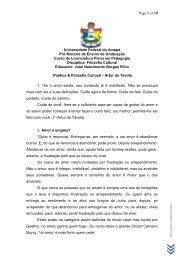 Poética & Filosofia Cultural - Artur da Távola - Unifap
