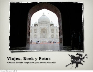 Press Kit de Viajes, Rock y Fotos