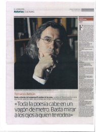 Entrevista en La Voz de Asturias - Dospassos