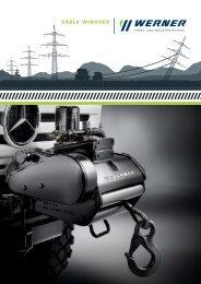 cable winches - Werner GmbH Forst- und Industrietechnik