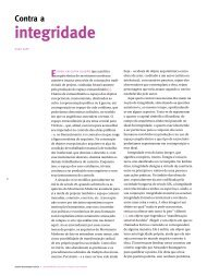 Contra a integridade - mdc . revista de arquitetura e urbanismo