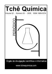 Periódico Tchê Química Vol 2 - n.3