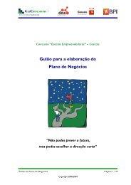 Guião para a elaboração do Plano de Negócios - DNA Cascais
