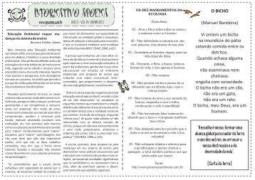 Edição ANO 3 - VOL96 - 08/ABR 2011 - Projeto Apoema