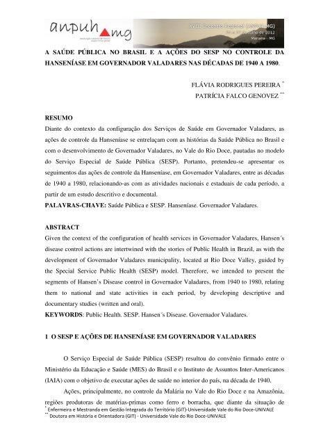 Flávia Rodrigues Pereira - XVIII Encontro Regional (ANPUH-MG)