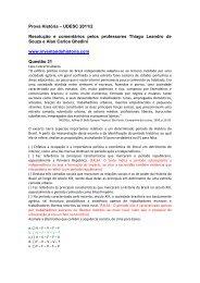 História UDESC 2011/2 - Inventando História