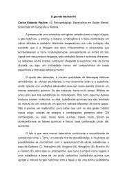 O grande laboratório Carlos Eduardo Paulino, 43 ... - Uniesp