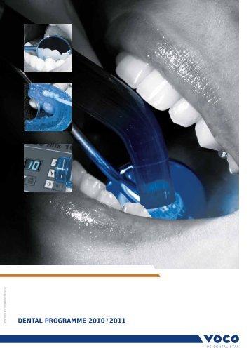 DENTAL PROGRAMME 2010 / 2011 - Cliveste
