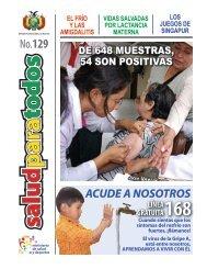 No.129 - Ministerio de Salud y Deportes de Bolivia