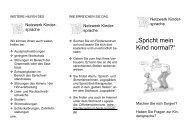 Flyer - Netzwerk Kindersprache - Wesselburen