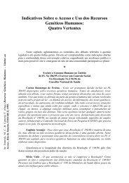 Indicativos Sobre o Acesso e Uso dos Recursos ... - Projeto Ghente