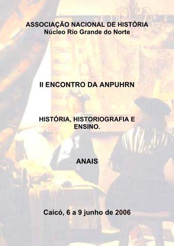 download dos anais - Rn.anpuh.org - Associação Nacional de História