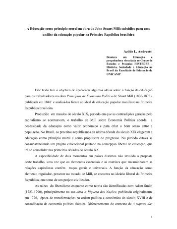 Artigo S - histedbr - Unicamp
