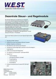 FLYER IP65 Module - W.E.ST. Elektronische Steuerungen e. K.