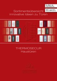 Katalog Download Thermosecur