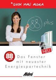 aldra kunststoff-fenster 88+