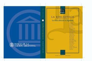 Por Jorge Monteleone - Biblioteca Nacional