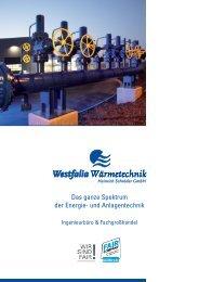 Das ganze Spektrum der Energie- und Anlagentechnik -  Westfalia ...