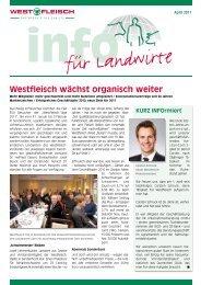 KURZ INFOrmiert - Westfleisch e.G.