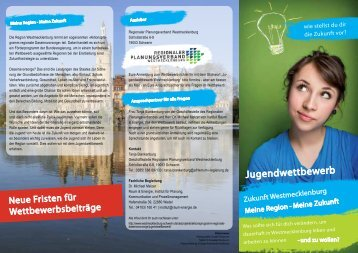 Flyer Jugendwettbewerb - Regionaler Planungsverband ...