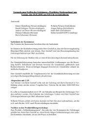 """Vermerk zum Treffen des Geleitzuges """"Westliches Niedersachsen ..."""