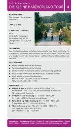 DIE KLEINE HARZVORLAND-TOUR 4 - Wernigerode