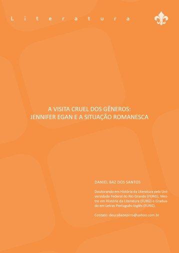 a Visita CRUel Dos GÊneRos: JenniFeR eGan e a sitUaÇÃo ...