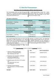 1.3 Amt für Finanzwesen - Wernigerode